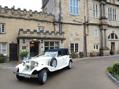 Beauford wedding car in Malton, North Yorkshire