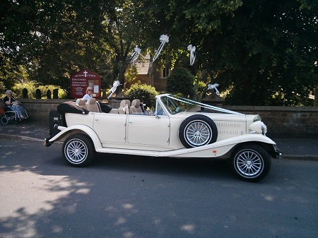Wedding car Tickton East Yorkshire