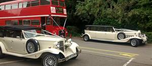 Stretched Beauford and 4 Door Beauford in York