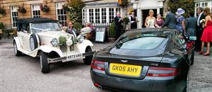Wedding car in Helmsley