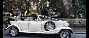 Wedding car in Tickton