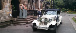 Wedding car at the Hospitium