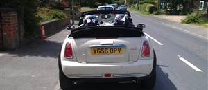 Mini Wedding Car in  Sutton on The Forest