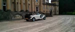 Beauford Wedding Car Broughton Hall